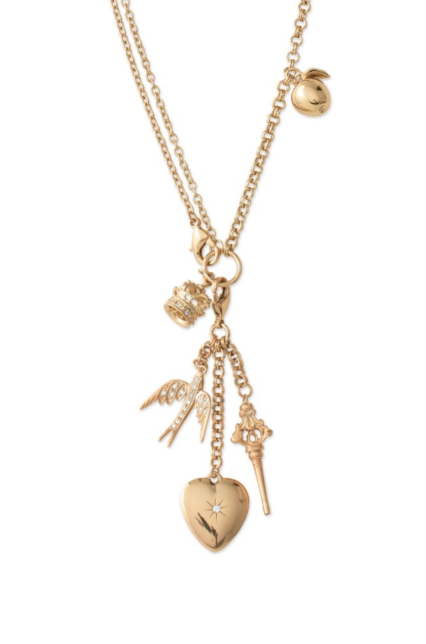 Alice by Temperley Design Collaboration: WONDERLAND CHARM NECKLACE, Stella & Dot