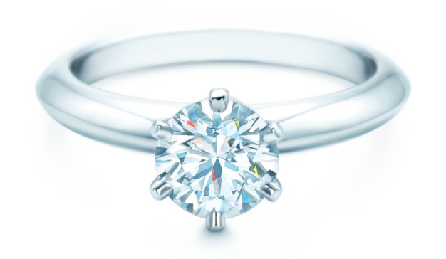 The Tiffany Setting engagement ring, 1ct from £8,525