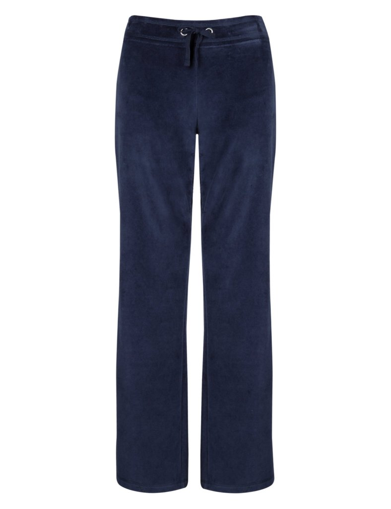Velour Marks & Spencer jogging bottoms, £15